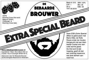 Etiket Extra Special Beard JPEG