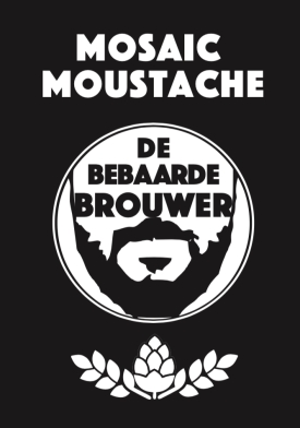 Mosaic Moustache Front
